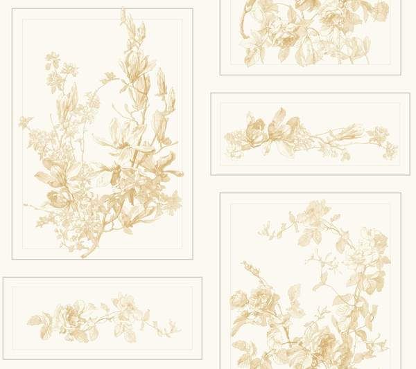 Magnolia Home The Magnolia Wallpaper - SAMPLE ONLY