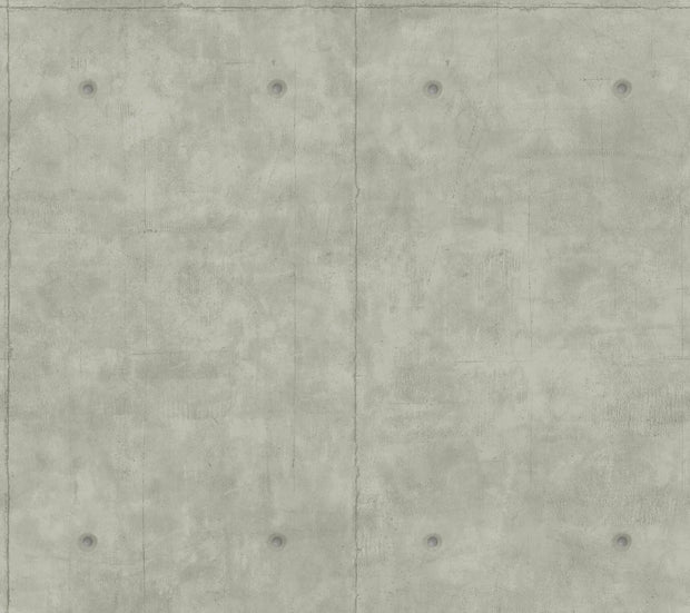 MH1552 Magnolia Home Concrete Wallpaper Mid Gray