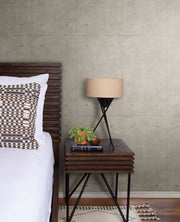 MH1553 Magnolia Home Concrete Bedroom Wallpaper Dark Gray