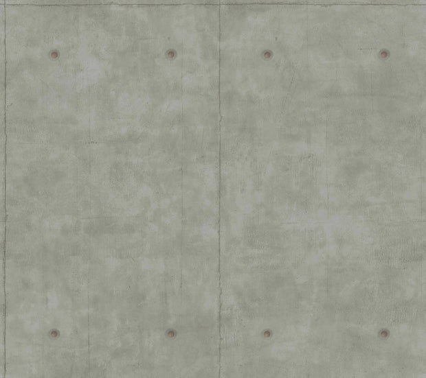 MH1553 Magnolia Home Concrete Wallpaper Dark Gray