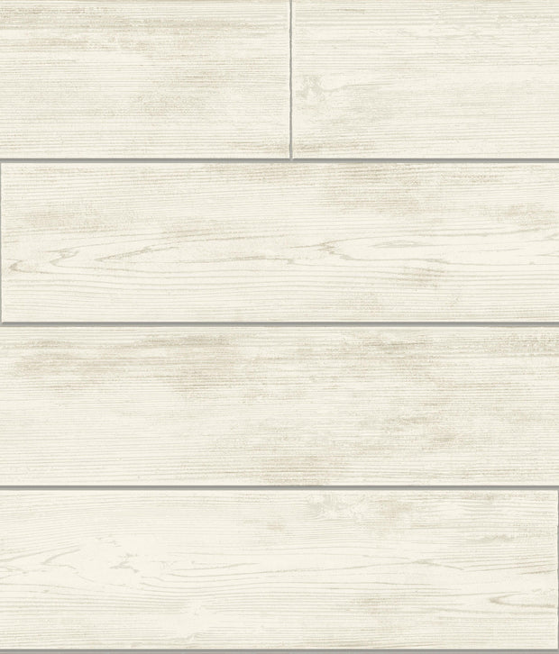 MH1559 Magnolia Home Shiplap Removable Wallpaper Warm Gray
