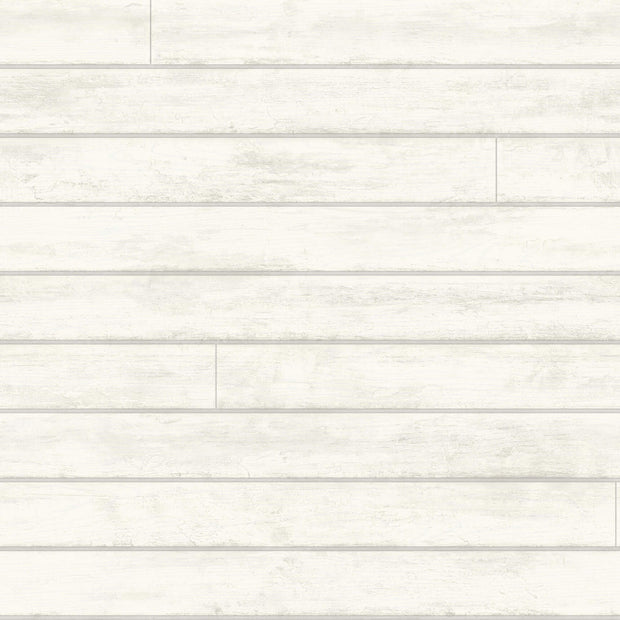 MH1566 Magnolia Home Skinnylap Removable Wallpaper White Gray