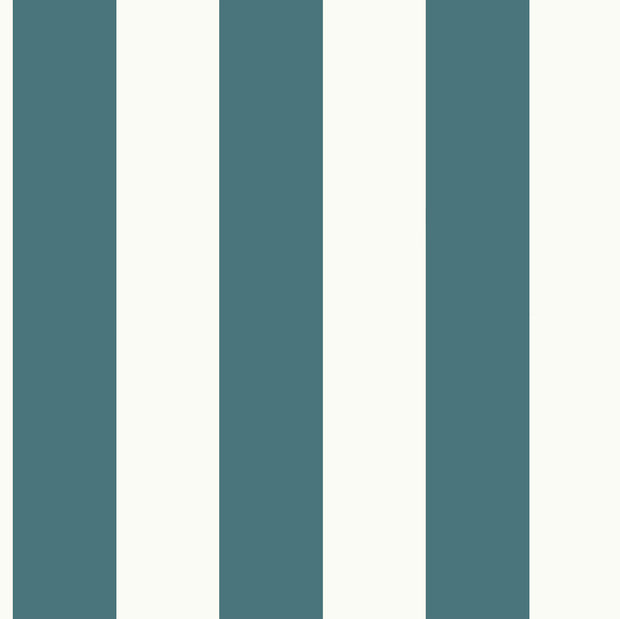 MH1589 Magnolia Home Awning Stripe Wallpaper Blue White