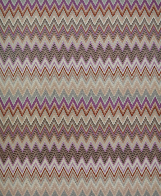 Missoni Home Zig Zag Multicolore Wallpaper - Orchid Cream