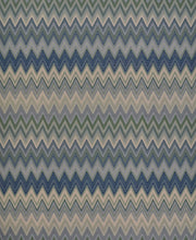 Missoni Home Zig Zag Multicolore Wallpaper - Mint Green & Navy