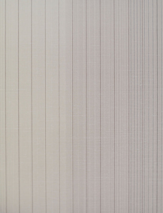 Missoni Home Vertical Stripe Wallpaper - Cream & Grey