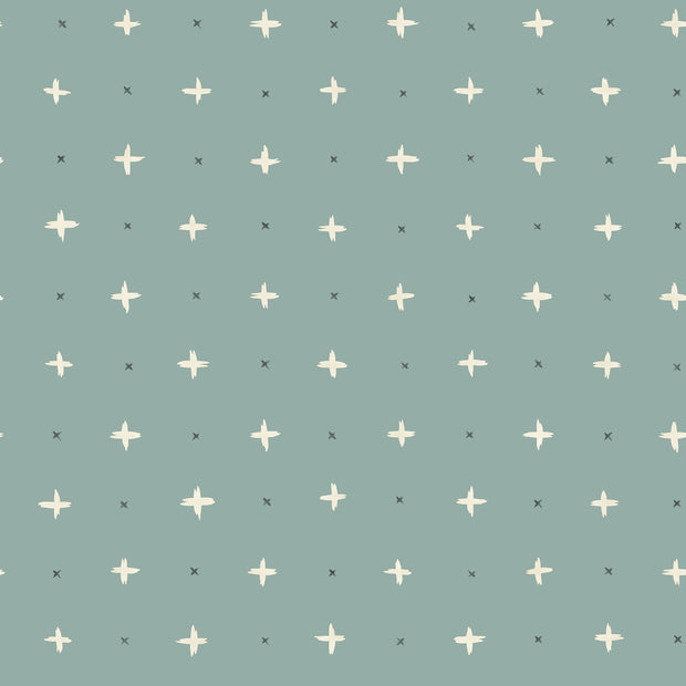 Magnolia Home Cross Stitch Wallpaper - SAMPLE SWATCH ONLY
