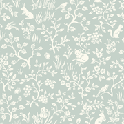 Magnolia Home Fox and Hare Wallpaper - SAMPLE SWATCH ONLY
