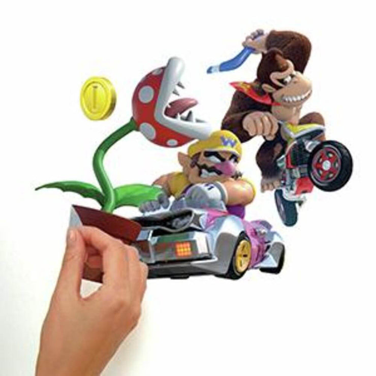 Mario Kart 8 Peel and Stick Wall Decals