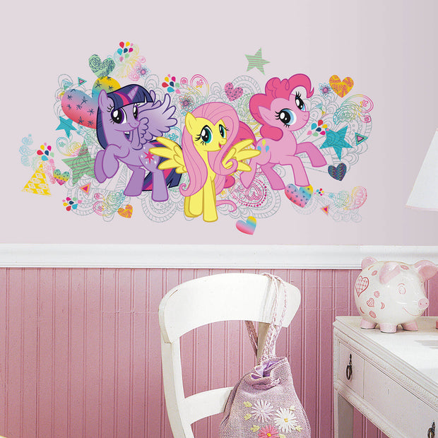 My Little Pony Roommates Wall Decals