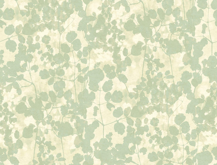 Pressed Leaves Wallpaper by Candice Olson - Green
