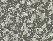Candice Olson Pressed Leaves Wallpaper - Dark Grey
