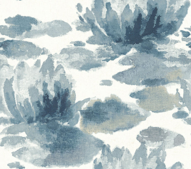 Water Lily Wallpaper by Candice Olson - SAMPLE ONLY