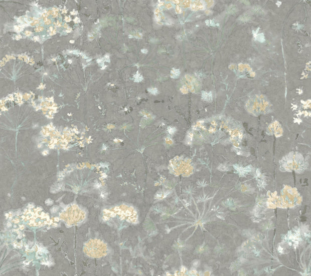 Botanical Fantasy Wallpaper by Candice Olson - Grey
