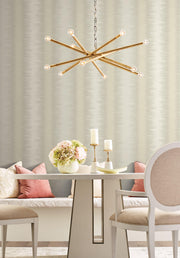 Quill Stripe Wallpaper by Candice Olson - Beige