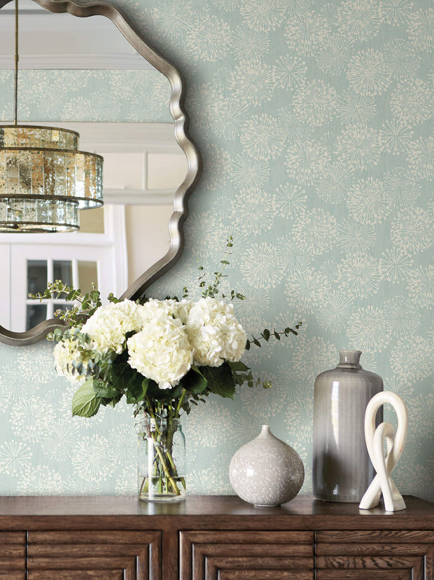 Candice Olson Grandeur Wallpaper - Light Blue