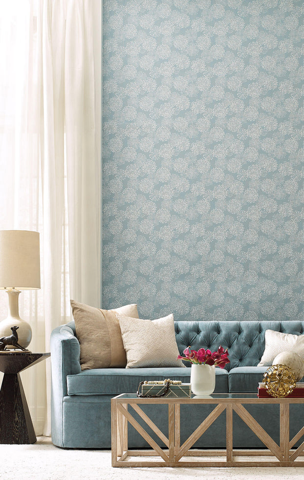 Grandeur Wallpaper by Candice Olson - Light Blue