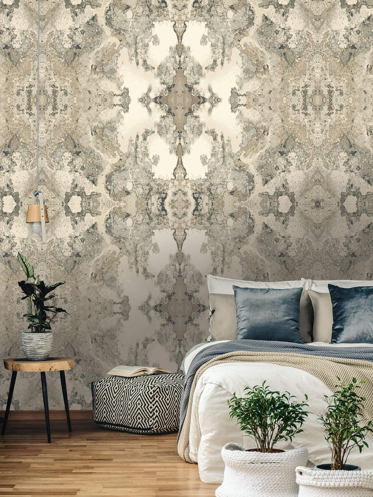 Inner Beauty Wallpaper by Candice Olson - Grey