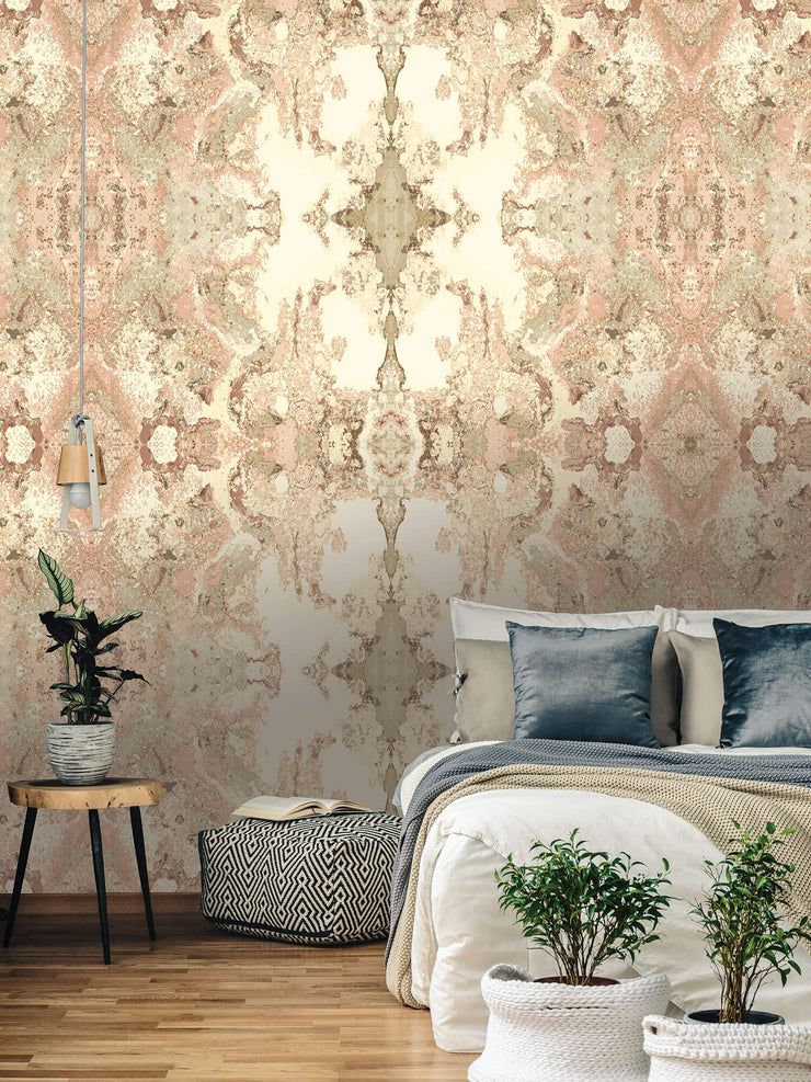 Inner Beauty Wallpaper by Candice Olson - Pink