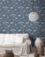 Candice Olson Enchanted Wallpaper - Blue