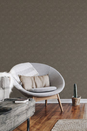 NR1512 Norlander Norse Tribal Wallpaper York Brown