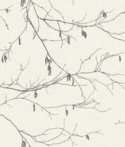 NR1524 Norlander Winter Branches Wallpaper White