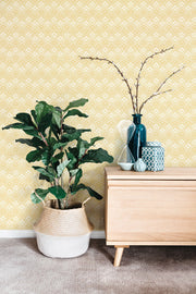 NR1551 Norlander Chalet Wallpaper york Yellow