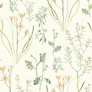 NR1565 Norlander Alpine Botanical Wallpaper York Green