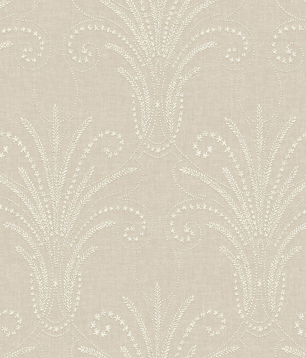 NR1573 Norlander Candlewick Wallpaper york Brown