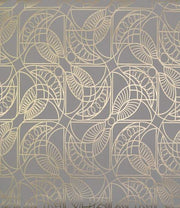 Modern Metals Cartouche Wallpaper - SAMPLE ONLY