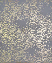 NW3597 Antonina Vella Modern Metals Eclipse Wallpaper Grey Gold