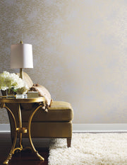 Antonina Vella Eclipse Wallpaper - White & Gold