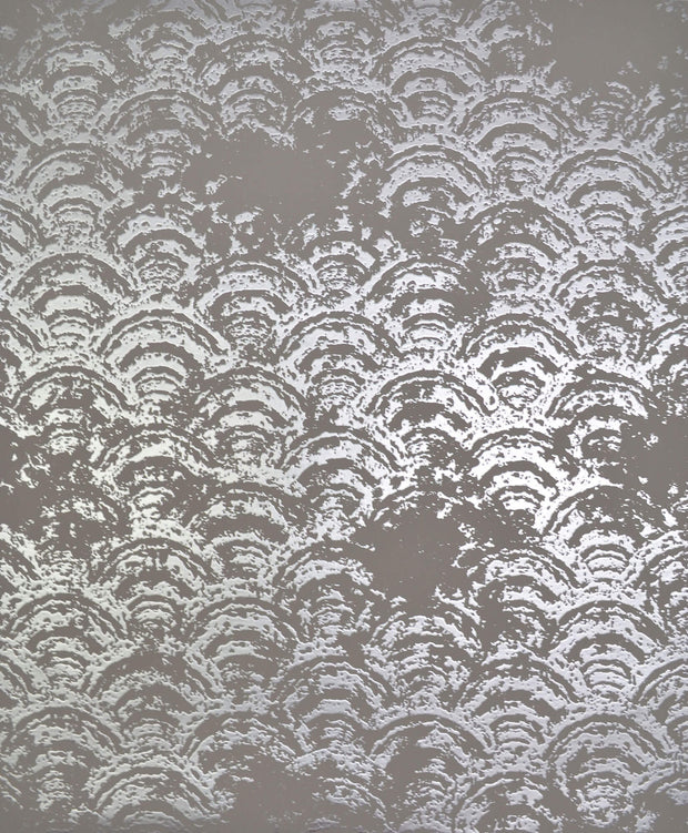 NW3600 Antonina Vella Modern Metals Eclipse Wallpaper Grey Silver