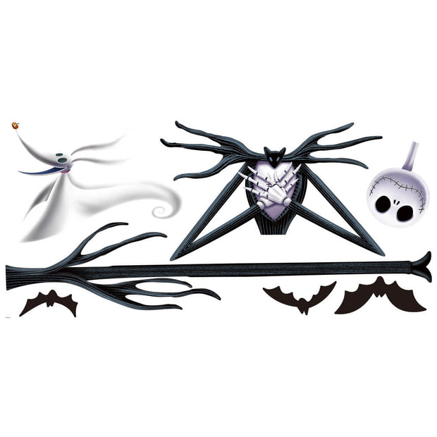 The Nightmare Before Christmas Jack Peel and Stick Giant Wall Decals