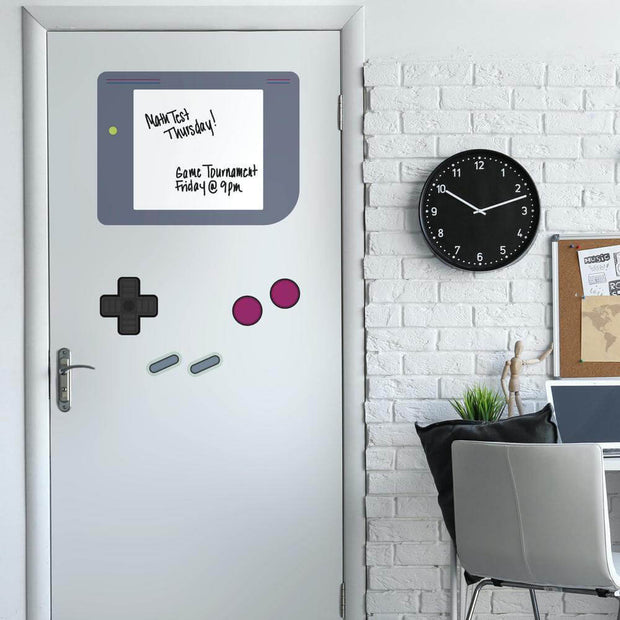 Nintendo Gameboy Giant Wall Decals with Dry Erase