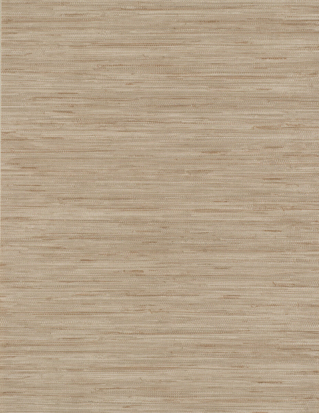 Grasscloth Resource Library Lustrous Grasscloth Wallpaper - Beige