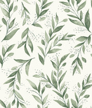 Magnolia Home Olive Branch Peel & Stick Wallpaper - Olive Grove