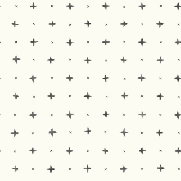 Magnolia Home Cross Stitch Peel & Stick Wallpaper - Black