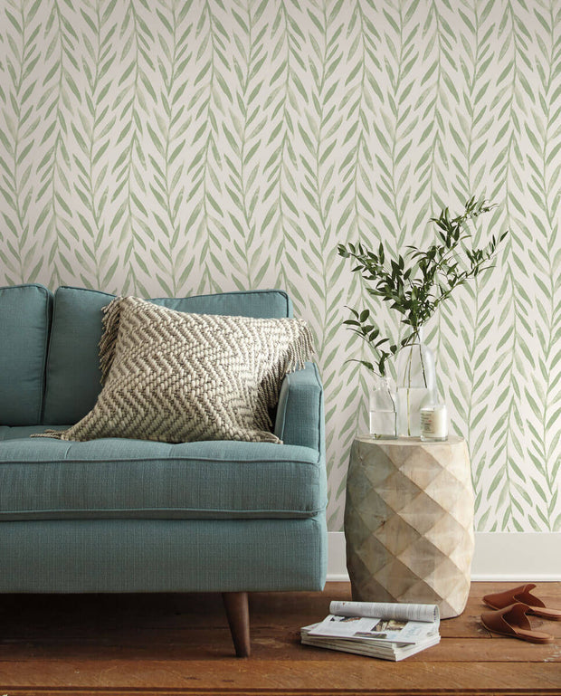 Magnolia Home Willow Peel & Stick Wallpaper - Green