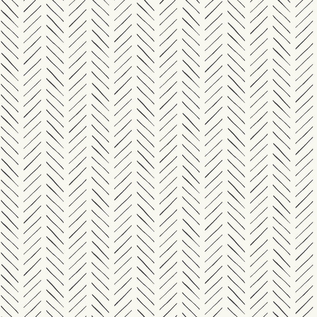 Magnolia Home Pick-Up Sticks Peel & Stick Wallpaper - Black & White