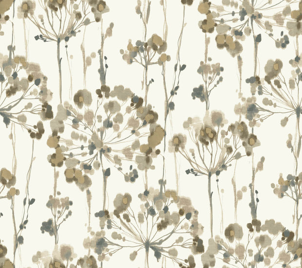 Simply Candice Flourish Peel and Stick Wallpaper - Neutral