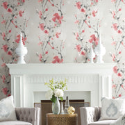 Simply Candice Charm Peel and Stick Wallpaper - Red