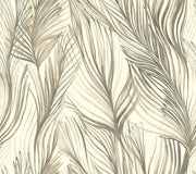 Simply Candice Peaceful Plume Peel and Stick Wallpaper
