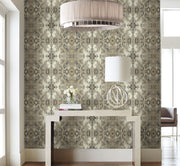 Simply Candice Inner Beauty Peel and Stick Wallpaper - Ivory