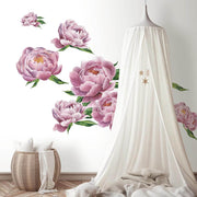 Peony Pink Peel and Stick Wall Decals