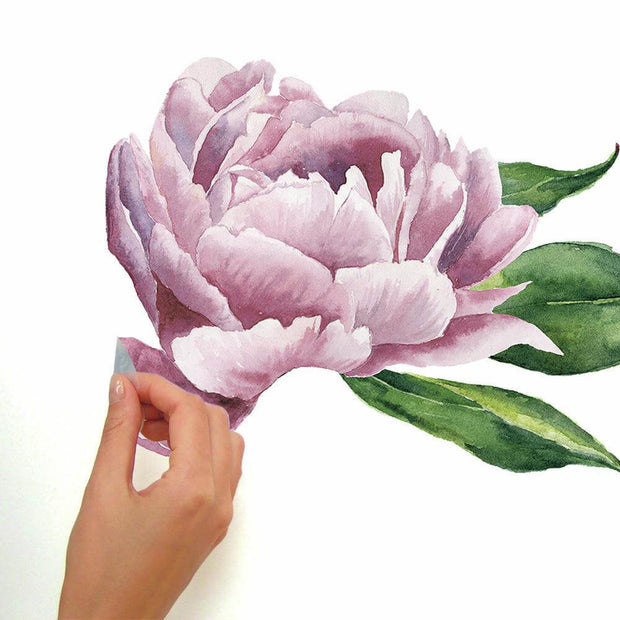Peony Pink Peel and Stick Wall Decal
