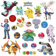 Pokemon Generation 6 Wall Decals