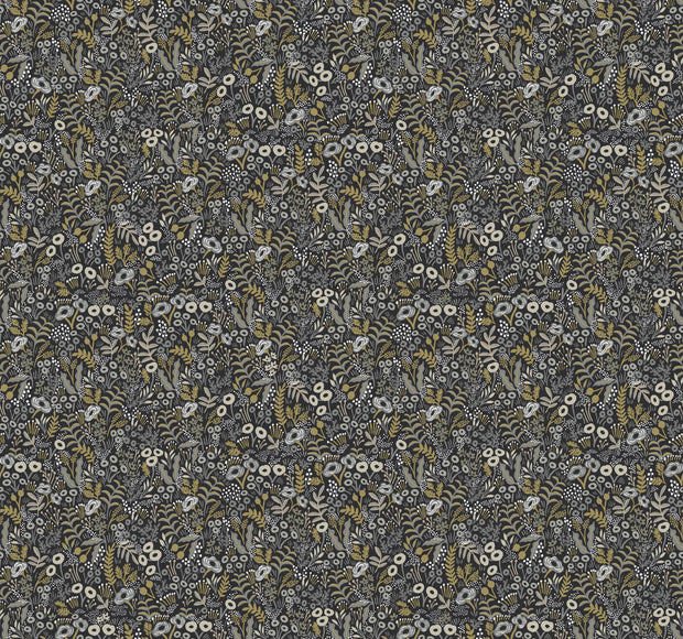 Rifle Paper Co. Tapestry Wallpaper - Black & Beige