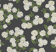Rifle Paper Co. Hydrangea Wallpaper - Black & White
