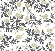 Rifle Paper Co. Peonies Wallpaper - Black & White